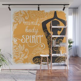 Mind, Body, Spirit Wall Mural