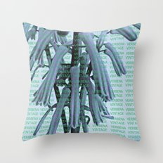 VERBENA VINTAGE Throw Pillow