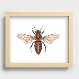 Magic Bee Recessed Framed Print
