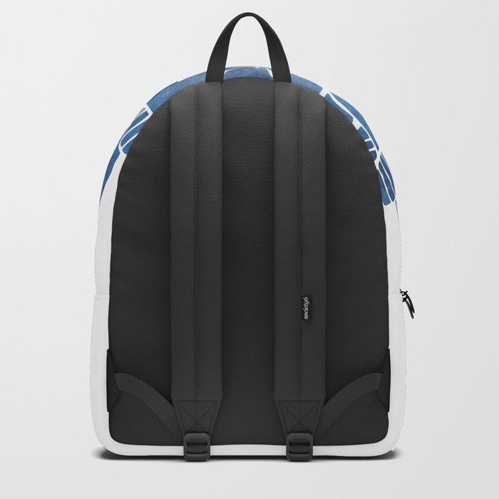 Blue Marine Mandala Backpack