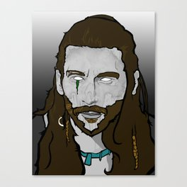 Death Becomes Him. Canvas Print