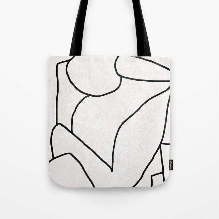 Abstract line art 2 Tote Bag