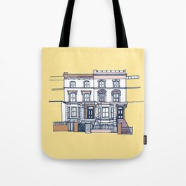 'Notting Hill' house print Tote Bag