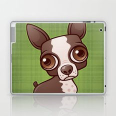 Zippy the Boston Terrier Laptop & iPad Skin