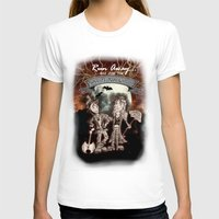 rock n roll T-shirts featuring Rock 'N' Roll Circus by Melissa Morrison