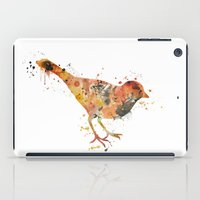 sparrow iPad Cases featuring sparrow  by iokk