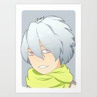 dmmd Art Prints featuring Clear by Liyu