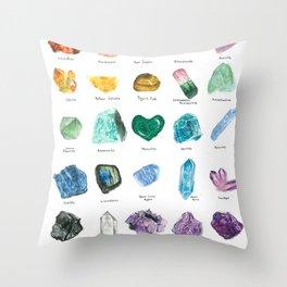 Rainbow Chart Throw Pillow