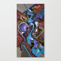 Wish blue Canvas Print
