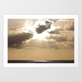 Rays of Sunshine Art Print