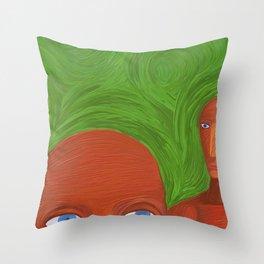 new land Throw Pillow