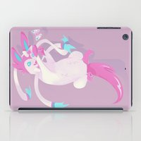 sylveon iPad Cases featuring Intertwining by a.n. spencer