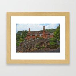 English Rural Scene Framed Art Print
