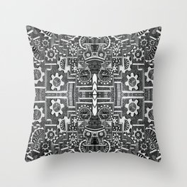 """Vi illustro cosa accade nella mia testa"" Throw Pillow"