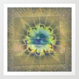 Disfranchises Trance Flowers  ID:16165-032606-04721 Art Print