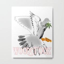 Woodstock 50th Anniverary Metal Print