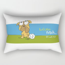 Fetch Rectangular Pillow