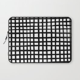 Hand-painted Grid Laptop Sleeve