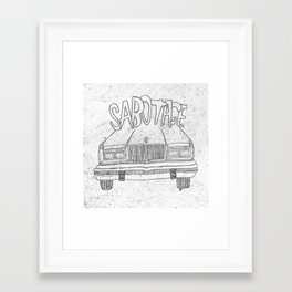BEASTIE BOYS Y'ALL Framed Art Print