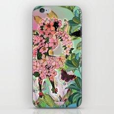 Vintage Flower Fairy iPhone Skin
