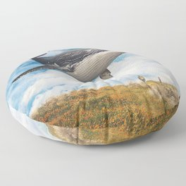 Field Of The Giant Floor Pillow