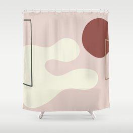 I dont know on ebony background Shower Curtain
