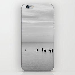 BEACH DAYS XXVIII BW iPhone Skin