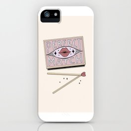 Perfect Match iPhone Case