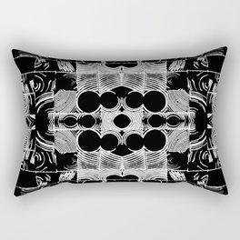 Circular Panel Rectangular Pillow