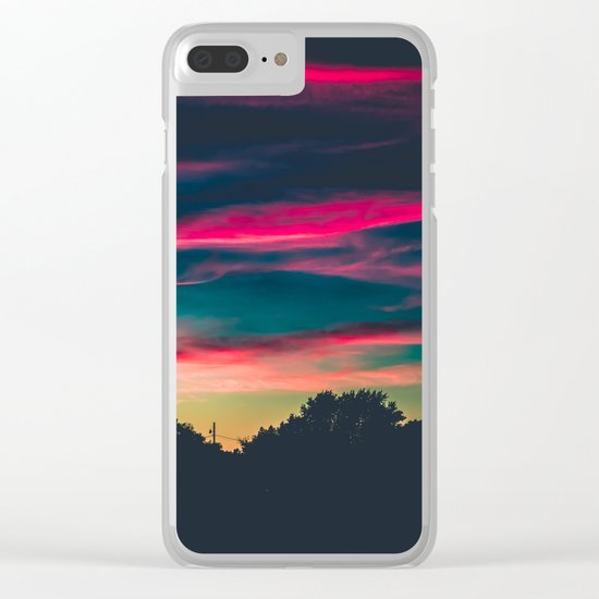 End Of Days Clear iPhone Case