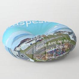 Sainte-Anne-des-Monts, Gaspésie Floor Pillow
