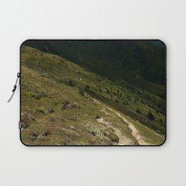 narrow hiking path alps serfaus fiss ladis tyrol austria europe Laptop Sleeve