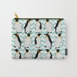 Watercolor Penguins Carry-All Pouch