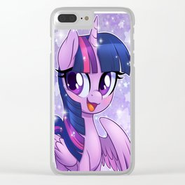 Princess Twilight Sparkle Clear iPhone Case