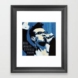 The Smiths - Big Mouth Strikes Again Framed Art Print