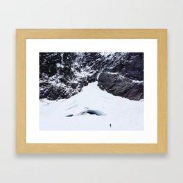 The Approach Framed Art Print