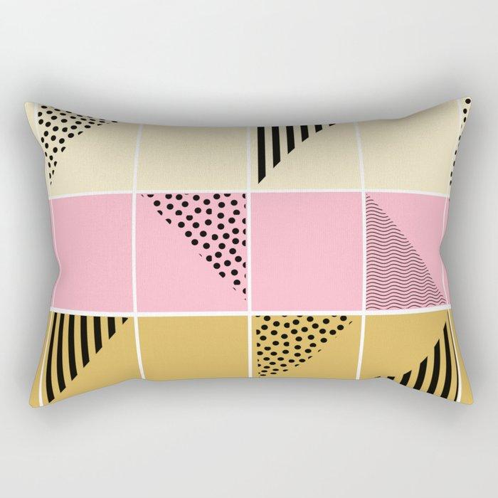 Mosaic #1 Rectangular Pillow