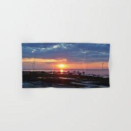 Sunset under Stormy Skies Hand & Bath Towel