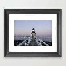 Marshall Point Lighthouse Framed Art Print