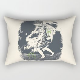 Before it's too late... Rectangular Pillow