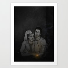 sterek Art Print