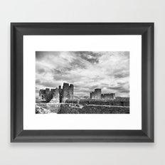 Caerphilly Castle Framed Art Print
