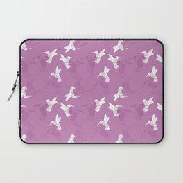 Humming Bird Pink Laptop Sleeve