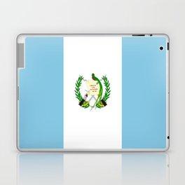 Flag of Guatemala- Guatemalan, Mixco,Villa Nueva,Petapa,tropical,central america,spanish,latine Laptop & iPad Skin