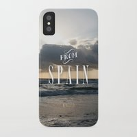 spain iPhone & iPod Cases featuring From Spain by Nena Loca