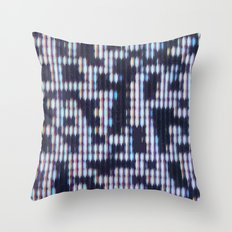 Painted Attenuation 1.4.1 Throw Pillow
