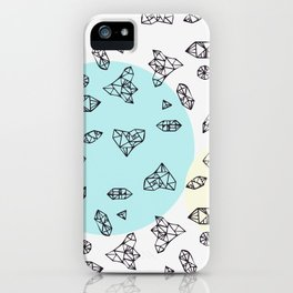 you are my geometric desire... iPhone Case