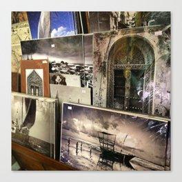 Zanzibari Art Souq Canvas Print