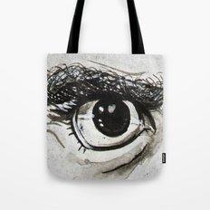 Doubt Black Eyes Tote Bag