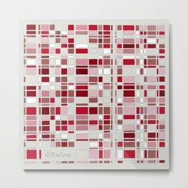 Seeing Red Metal Print